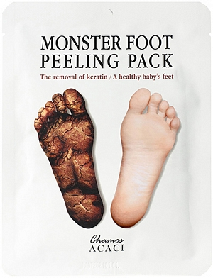 Chamos Acaci~Носочки для пилинга~Monster Foot Peeling Pack Futto