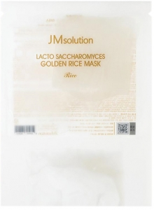 JMsolution~Маска для выравнивания тона с лактобактериями~Lacto Saccharomyces Golden Rice Mask