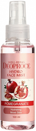 Deoproce~Увлажняющий мист с экстрактом граната~Well-Being Hydro Face Mist Pomegranate